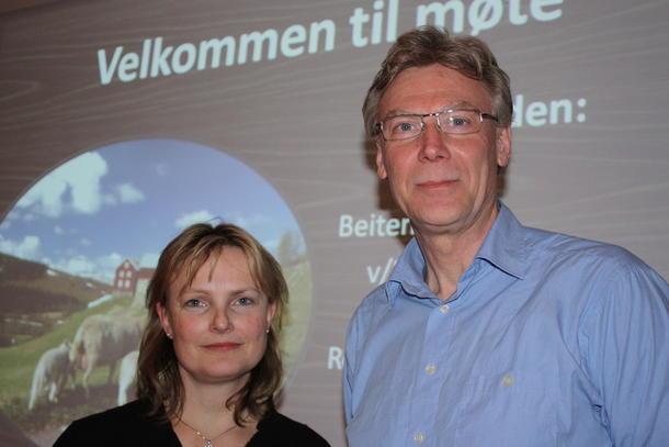Trine Hasvang Vaag og Knut Rønningen, Mattilsynet, ble enige om at det er rovdyrene som er problemet.