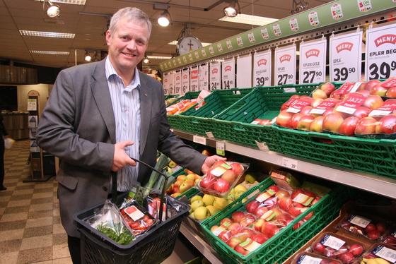 Styret i Norges Bondelag med Bondelagsleder Nils T. Bjørke i spissen, støtter forslaget om god handelsskikk, arkivfoto: Marthe Haugdal