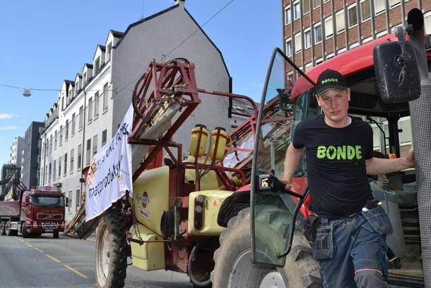 Dag Fredrik Eftedal, før han legger kursen mot Landbruks- og matdepartementet, foto: Per Ole Ranberg.