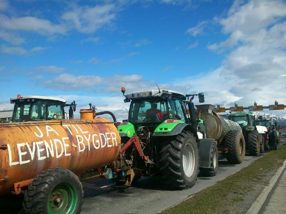 Klar til traktoraksjon