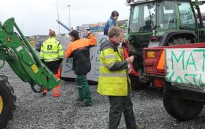 Førebuing av traktoraksjon.