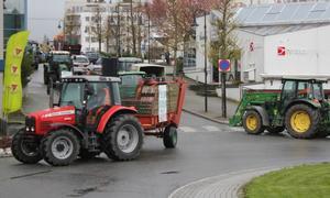 Traktoraksjon.