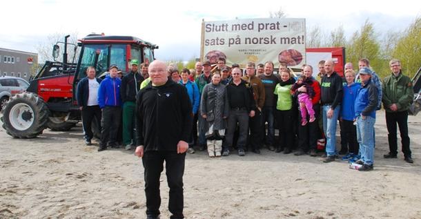 Oddbjørn Solum ledet an i aksjonen på Namsos 14/5..