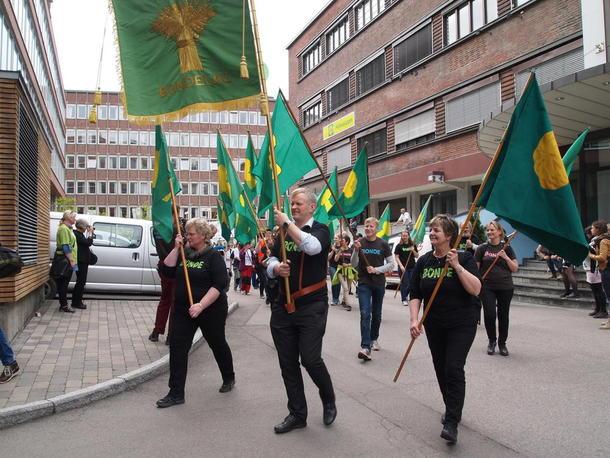 ..en samlet organisasjon med et godt utgangspunkt for de viktigste arbeidsoppgavene i kommende arbeids-og valgår, arkivfoto: Per Ole Ranberg.