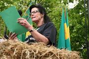 Småbrukarlagets Merete Furuberget, foto: Marthe Haugdal