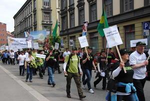 Fra akjsonen i Oslo i 2012