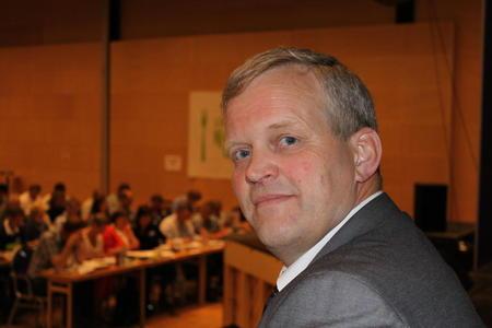Leder i Norges Bondelag Nils T. Bjørke ved åpningen av Bondetinget 2012. Foto: Guro Bjørnstad.