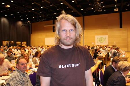 Aslak Sira Myhre. Foto: Guro Bjørnstad.