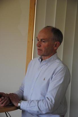 Direktør Ingvar Hage i Bioforsk Øst.