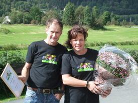 Gunn Linda og Ståle Ueland. Fotograf Ingunn DrangeUeland
