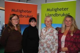 Inger Kristine Årstad, Torill Sogn Haug, Margit Rognerud og Ann Kirsti Seiersten