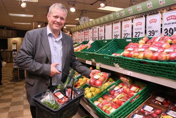 Bondelagsleder Nils T. Bjørke, akrivfoto: Marthe Haugdal-