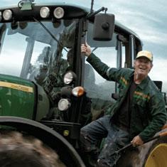 Slå ring om bonden. Han kan bli god å ha også i framtida, illustrasjonsfoto: Øistein Moi.