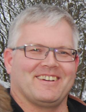 Leder i Hedmark Bondelag, Einar MYki, foto: Lars Alhaug.