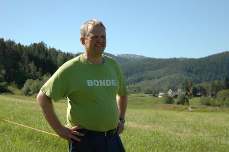 Valgkomiteen vil gi Nils T. Bjørke ny tillit som leder i Norges Bondelag, arkivfoto: Bondebladet.