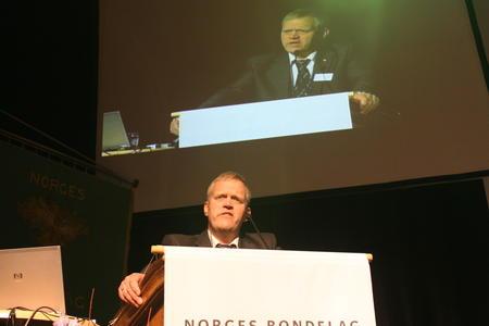 Bondelagsleder Nils T. Bjørke, arkivfoto: Per Ole Ranberg