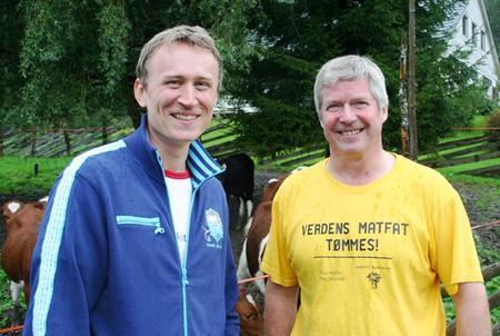 Endre Skjervø (Frp) og Vidar Meldal