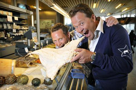 Heine Totland (t.v.) og Arne Hjeltnes skal lede Det norske måltid 2013, foto Tellus Works.