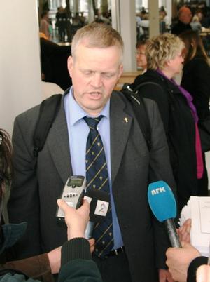 Bondelagsleder Nils T. Bjørke.