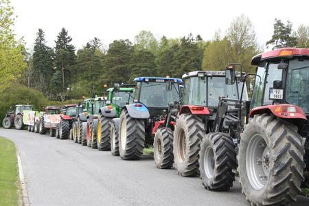 Traktorkaravane