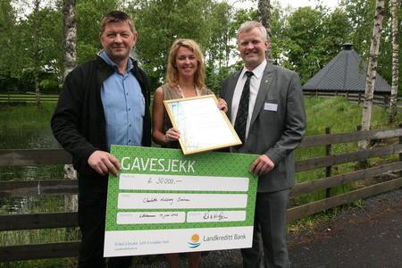 Charlotte H. Sveinsen, Knut Nordmo og Nils T.Bjørke., Askeladdprisen 2012