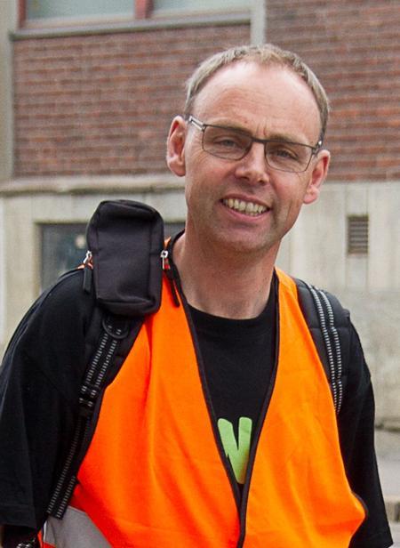 Sigurd Enger, foto: Hanne Eriksen