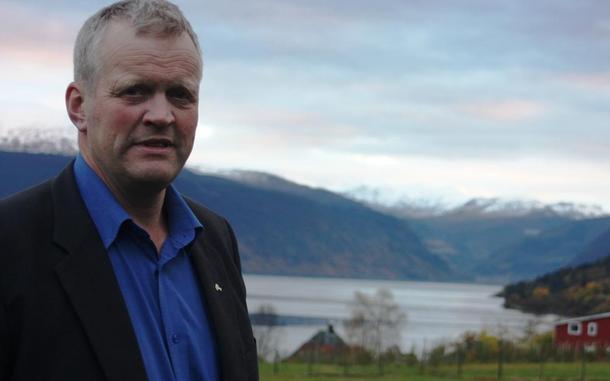 Leder i Norges Bondelag, Nils T. Bjørke, foto: Kari Marte Sjøvik.