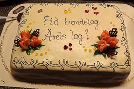 Årets lag 2012 i Norges Bondelag :)