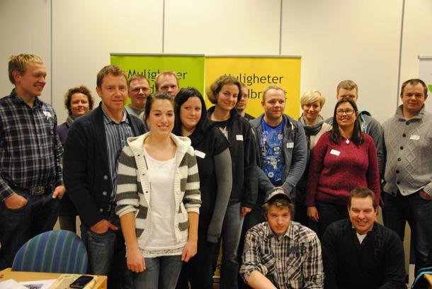 Mange unge og engaserte tillitsvalgte i Oppland Bondelag