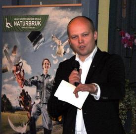 Landbruks- og matminister Trygve Slagsvold Vedum