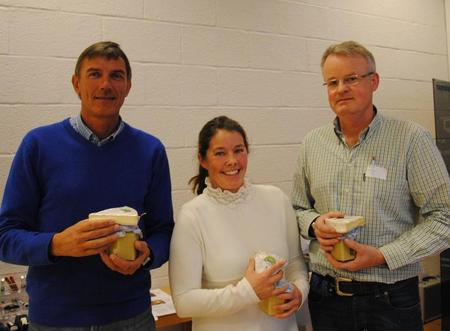 Eivind Mæhlum, Marita Aanekre og Hans Gunstad