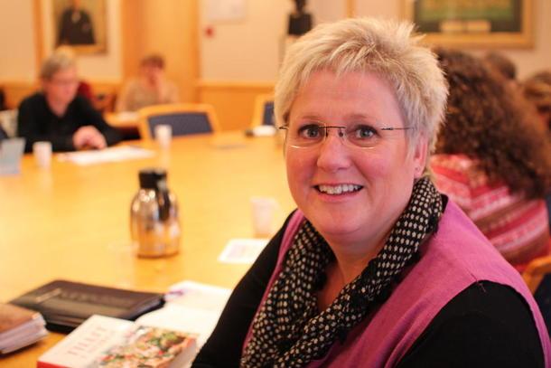 Andre nestleder i Norges Bondelag, Brita Skallerud, foto: Guro Bjørnstad.