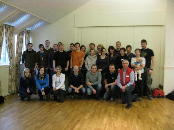 Deltagere på Unge Bønder kurs 2012