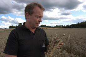 Svein Stubberud, leder i Bondelagets kornutvalg, foto: Felleskjøpet.