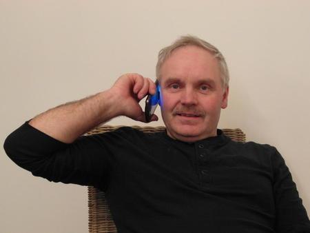Superverver Reidar Eriksen fra Leirfjord Bondelag tar 1 telefon, og et nytt medlem er vervet.