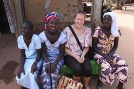 Sigrid Nygård på 4H-reise i Gambia