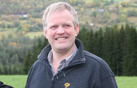 Bondelagsleder Nils T. Bjørke innleder på Kornkonferansen 2013.