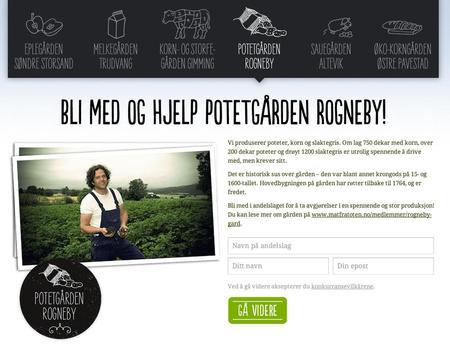 Thor Johannes Rogneby på Toten er en av andelslagsbøndene.