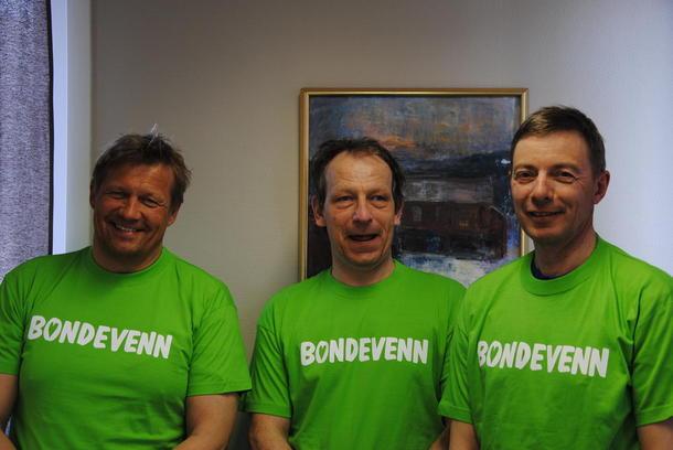 Tre gode ambassadører fra næringsmiddelindustrien; Jørn Harjo, Steinar Koen og Erik Isum.