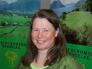 Nestleiar i Møre og Romsdal Bondelag, Gunnhild Overvoll.