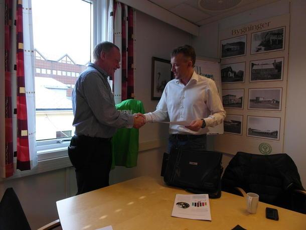 En takk til en støttespiller for Norsk landbruk fra Nordland Bondelag