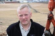 Bondelagsleder Nils T. Bjørke, foto: Ragna Kronstad.