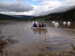 Til og med i Norge har vi opplevd at jordbruksområder blir oversvømt. Foto: Guro Breck