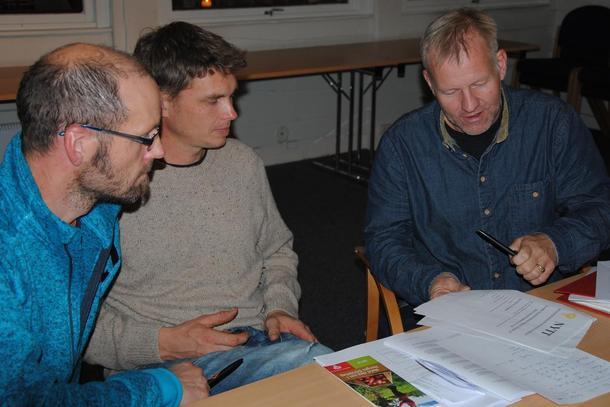 Valgkomiteen i Gausdal Bondelag møtte fulltallig og kom godt i gang med sitt arbeid.
