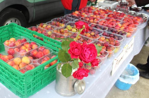 I Lærdal er det lange tradisjonar for marknad
