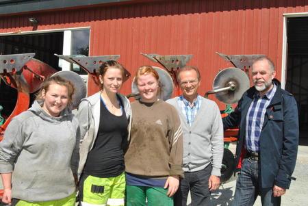 Lars M Rosmo besøker Øya vgs juni 2013