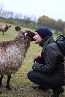 Skal du ta en tur over til væren, sier du? Foto: Kari Marte Sjøvik