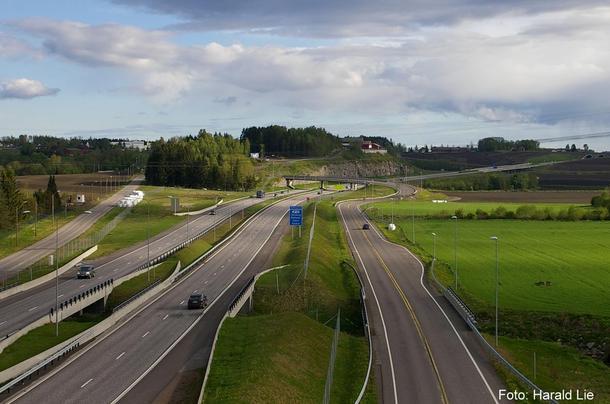 Illustrasjonsfoto E18, Harald Lie