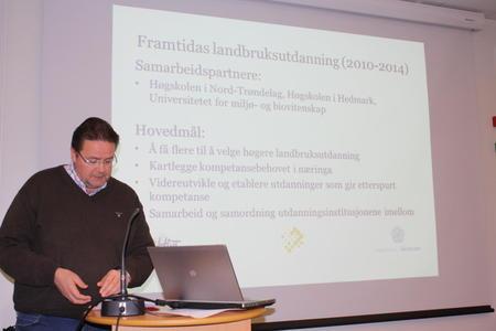 Halvor Nordli, fremtidens landbruksutdanning