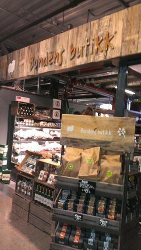 Bondens butikk i Mathallen, foto: Kari Marte Sjøvik